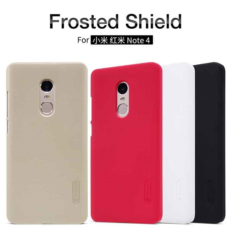NILLKIN Super Frosted Shield Xiaomi Redmi Note 4 (белый)