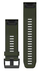 Ремешок силиконовый QuickFit 26 для Garmin Fenix 5X (зеленый) 010-12517-03