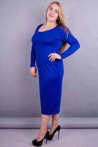 Мирослава француз. Сукня великих розмірів для жінок. Електрик.