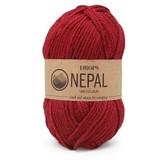 Пряжа Drops Nepal 3608 темно-красный