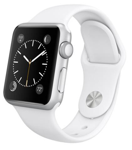 Купить Часы Apple Watch Sport 38мм (цвет белый) по доступной цене