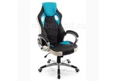 Компьютерное кресло Рокетас (Roketas) голубое