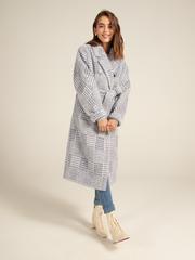 Пальто прямое с пуговицами