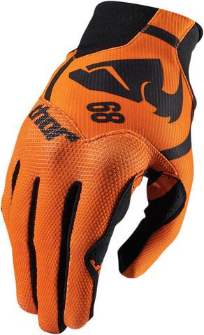 Мотоперчатки - THOR VOID PLUS GASKET (оранжевые)