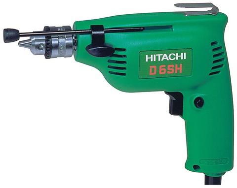 Дрель Hitachi D6 SH 0.5-6.5 240Вт 4500 об/мин