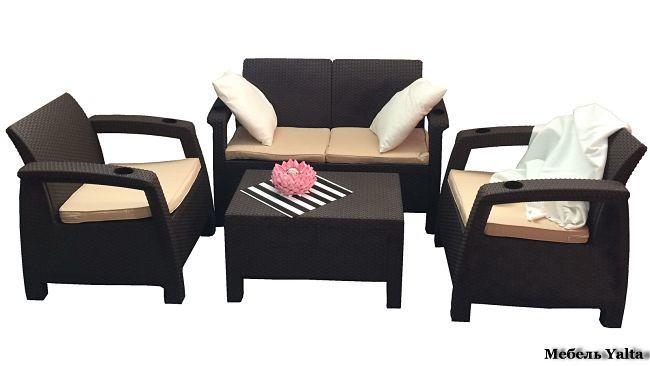 Комплекты для террасы Комплект мебели Yalta Terrace Set yalta_terrace_set.jpg