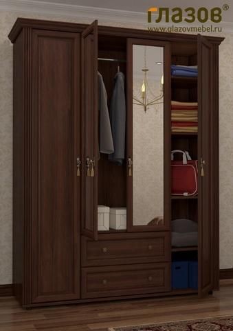 Спальня MONTPELLIER-1 Глазов орех шоколадный