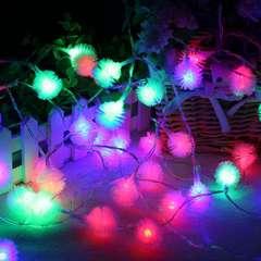 Электрическая светодиодная гирлянда- Ёжик