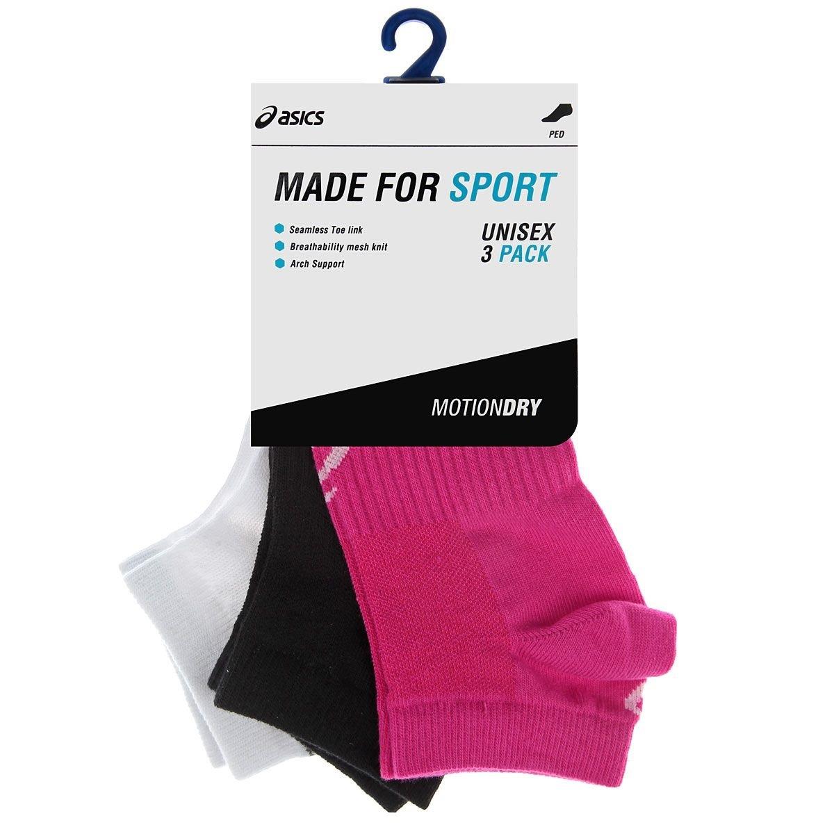 Спортивные носки Asics 3PPK Ped Sock (128066 0701) женские