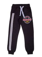 BK468P-2 спортивные брюки детские, черные