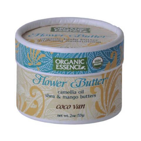 Organic Essence. Органический цветочный крем «Кокос-Ваниль»  (57 гр)