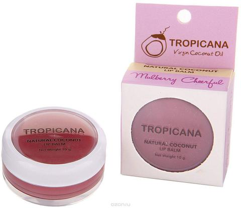 Tropicana Lip Blam Mulberry Cheerful - Бальзам для губ