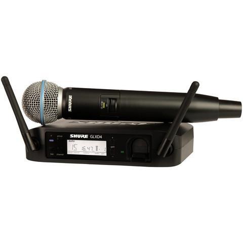 SHURE GLXD24/EBeta58 вокальная радиосистема