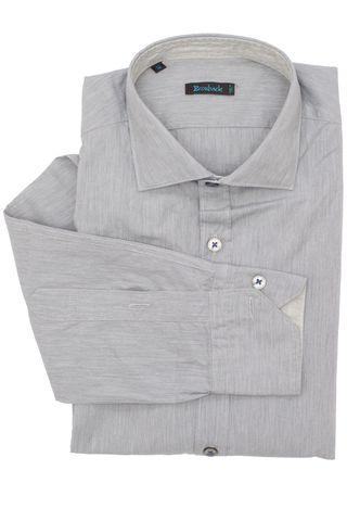 Стальная серая рубашка