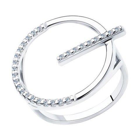 94013091 - Оригинальное,стильное кольцо из серебра