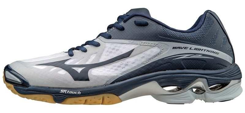 Мужские кроссовки для волейбола Мизуно Wave Lightning Z2 (V1GA1600 14) синие фото