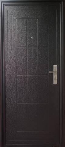 Дверь входная Кайзер К13, 1 замок, 0,4 мм  металл, (молоток графит+молоток графит)