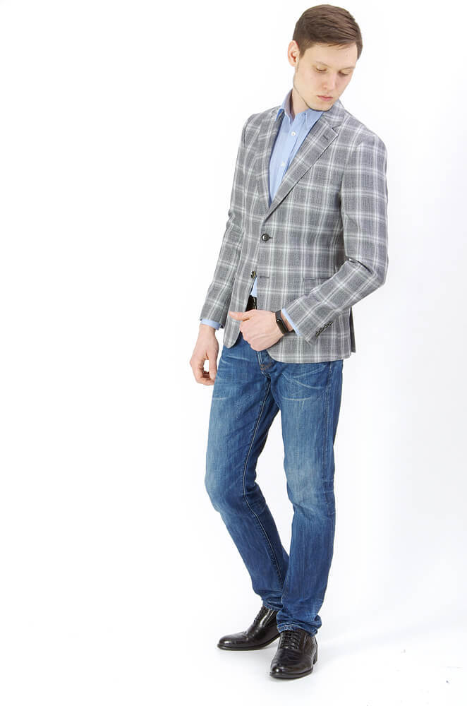 Пиджаки Slim fit PAUL MANTOVA / Пиджак приталенный slim fit IMGP9466.jpg