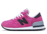 Кроссовки Женские New Balance 990 Pink White
