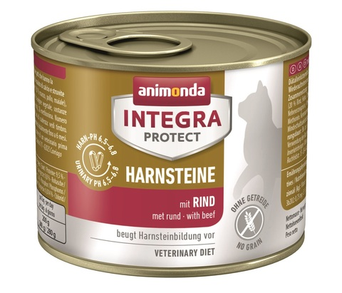 Animonda Integra Protect Cat (банка) Harnsteine (URINARY) with Beef