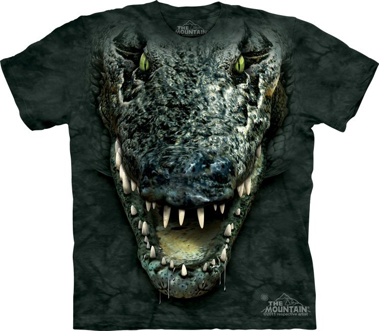 Футболка Mountain с изображением аллигатора - Gator Head