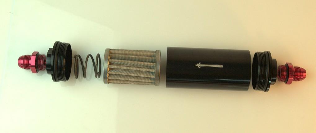 Топливный фильтр 40 микрон AN 10 Fuel Filter
