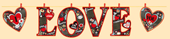 Гирлянда Love