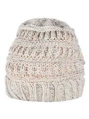 HT1813-2 шапка женская, бежевая