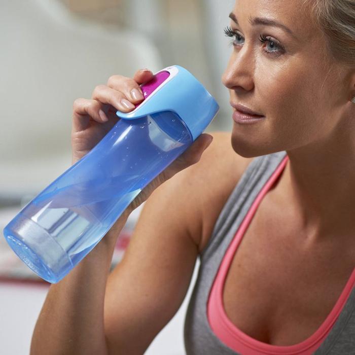 Бутылка Contigo Rush (0.55 литра) голубая