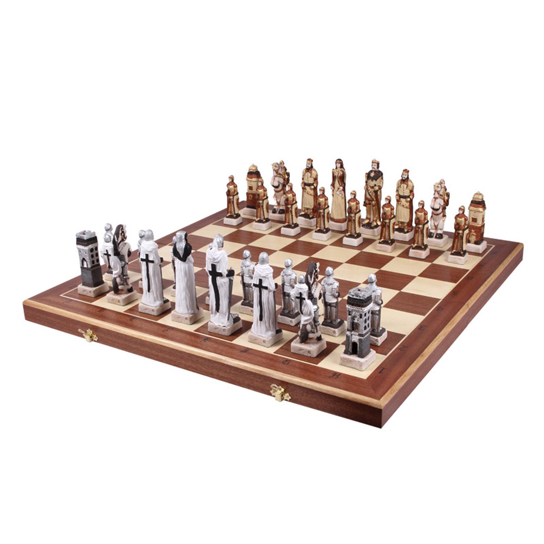 Шахматы Грюнвальд каменные 160 пр-во Польша