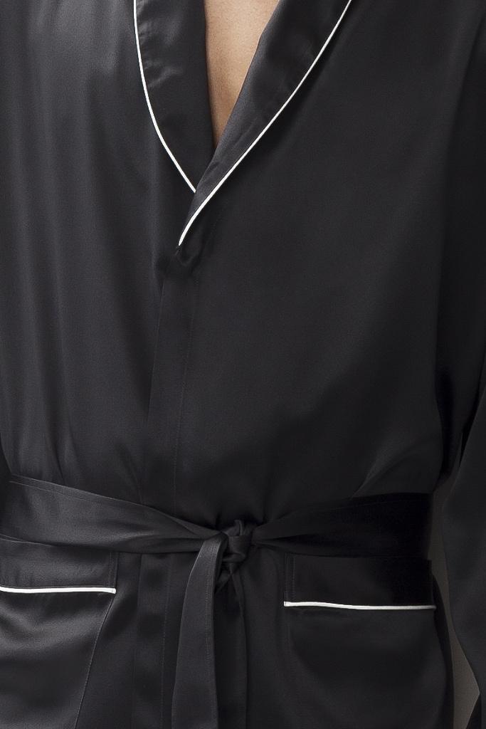 Мужской шелковый халат Zimmerli