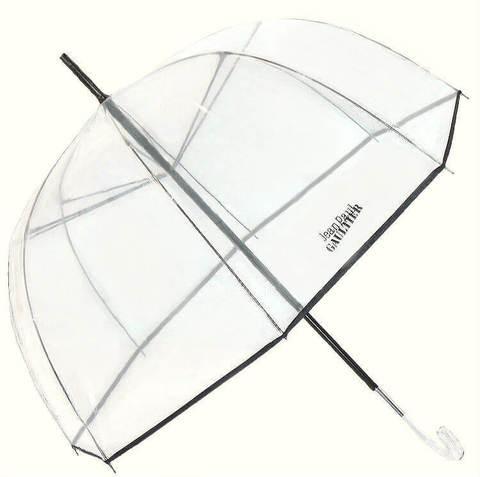 Купить онлайн Зонт-трость прозрачный JPaul Gaultier 878-2 в магазине Зонтофф.