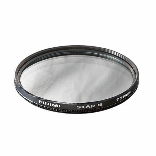Звёздный фильтр 58 mm FUJIMI ROTATE STAR 6 (эффектный на диаметр 58 мм)