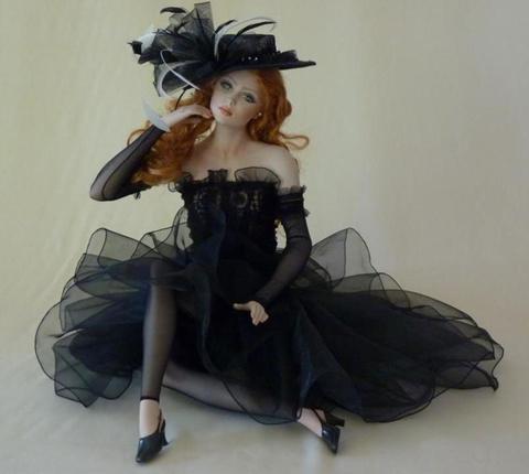 Кукла фарфоровая коллекционная Marigio Barbara