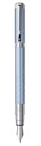 Перьевая ручка Waterman Perspective, цвет: Azure CT, перо: F