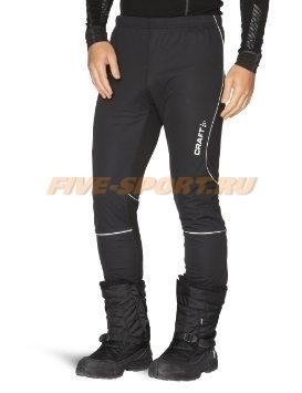 Мужские утепленные беговые штаны Craft New Storm черные фото