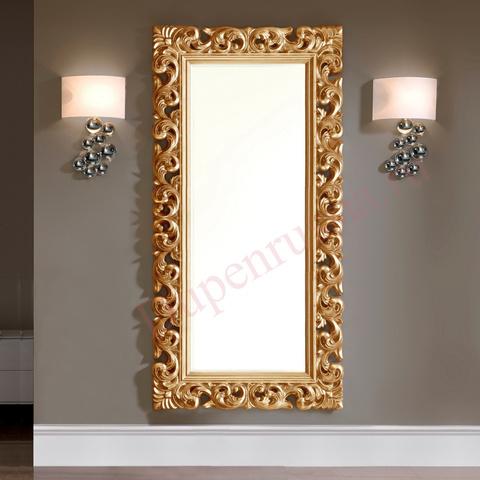Зеркало DUPEN PU049 (80*190) золото