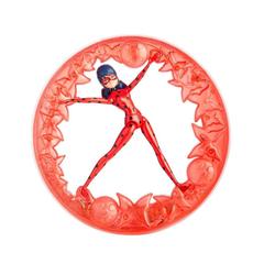 Фигурка Леди Баг с крутящимся колесом, Bandai