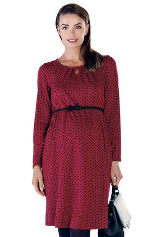 Платье 09131 красный