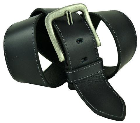 Мужской кожаный широкий ремень 50millen-004