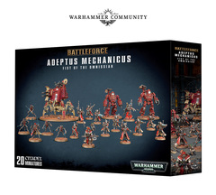 Battleforce Adeptus Mechanicus Fist of the Omnissiah