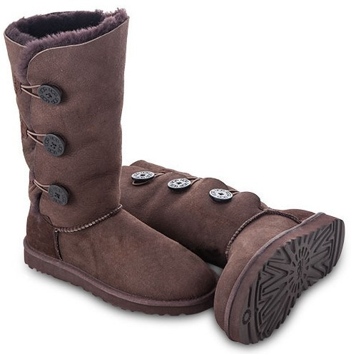 Ugg Bailey Button Triplet. Цвет: Chocolate. uggaustralia-msk.ru