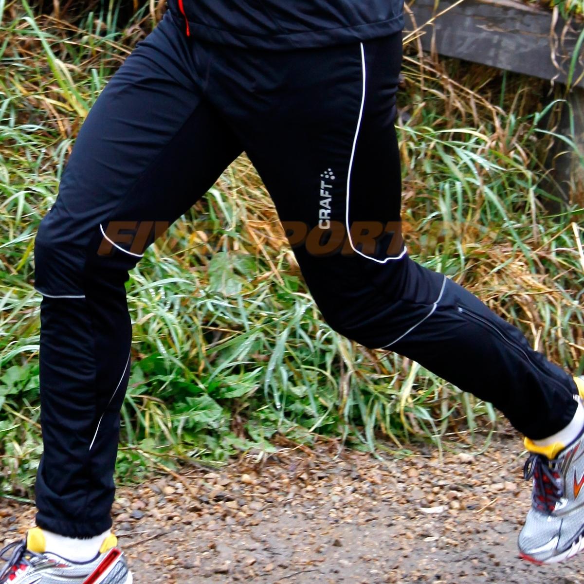 Мужские утепленные лыжные штаны Craft New Storm черные фото