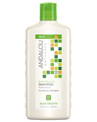 """Шампунь для жёстких и вьющихся волос """"Экзотическое масло Марулы"""", Andalou Naturals"""