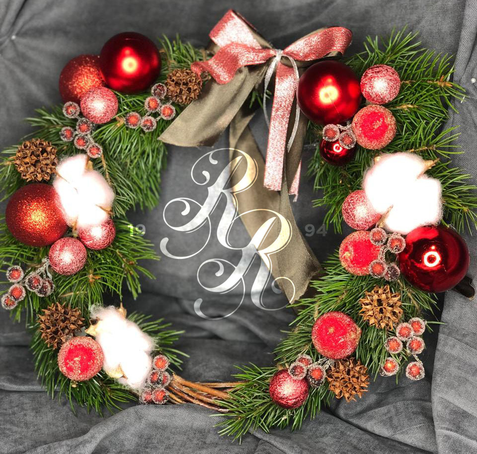 Рождественский венок 8