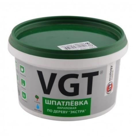Шпатлевка по дереву VGT белая 0,3кг
