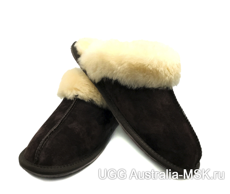 UGG Slipper Scufette Chocolate