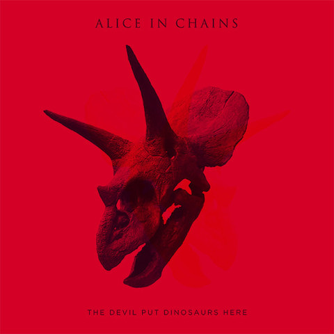 Alice In Chains / The Devil Put Dinosaurs Here (RU)(CD)