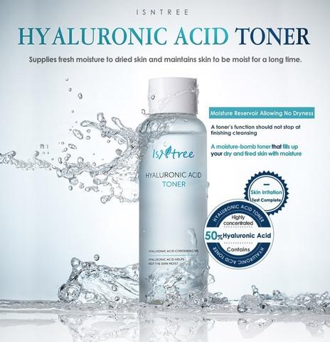 Тонер с гиалуроновой кислотой, 200 мл / Isntree Hyaluronic Acid Toner