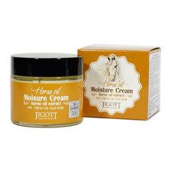 Jigott Horse Oil Moisture Cream - Увлажняющий крем с лошадиным маслом